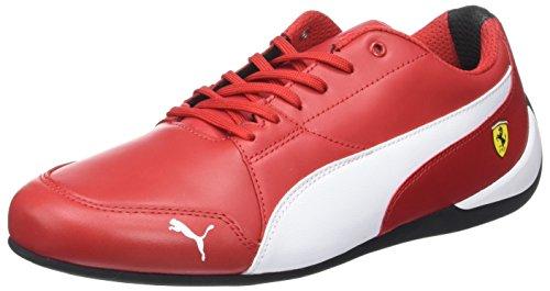 Puma Unisex-Erwachsene SF Drift Cat 7 Sneaker, Rot (Rosso Corsa White-Black), 40.5 EU