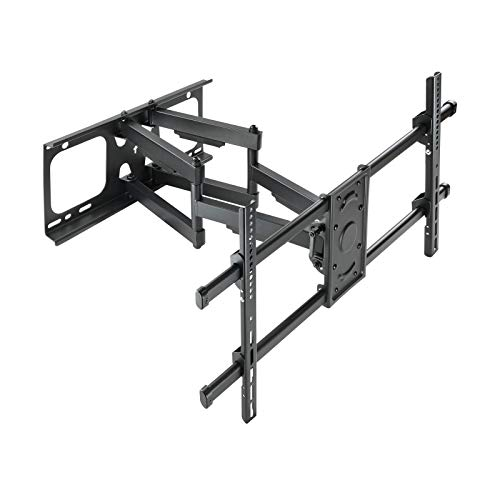 TOOQ LP3790TN-B - Soporte de Pared para Pantallas 37' - 90', Máximo 75 kg, Extensible, Inclinable, Color Negro