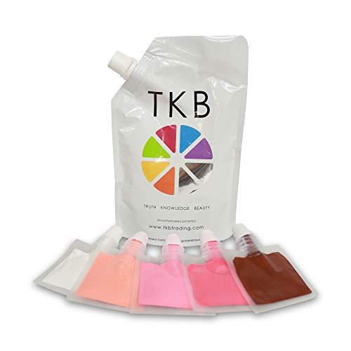 TKB Lip Gloss Base & Lip Color Kit- Mix Your Own Colors and Lip Gloss, DIY Clear Lip Gloss and Pigmented Lip Liquid Colors
