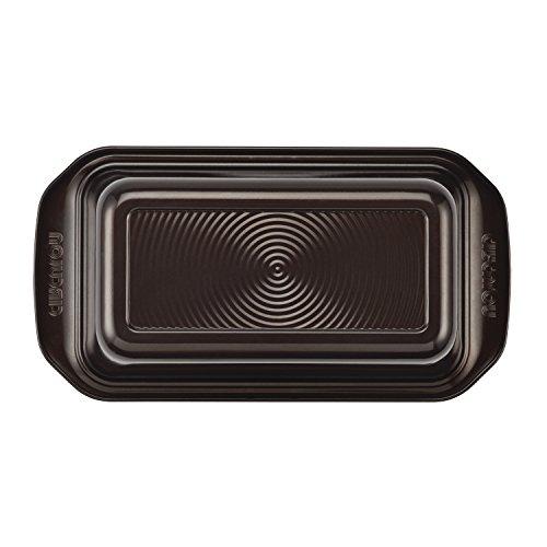 صينية خبز دائرية مقاومة للالتصاق مقاس 22.86 سم × 12.7 سم، بلون الشوكولاتة البني - 46013