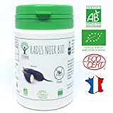 Radis noir bio | 60 gélules | Complément alimentaire | Détox foie Cholestérol Digestion |...
