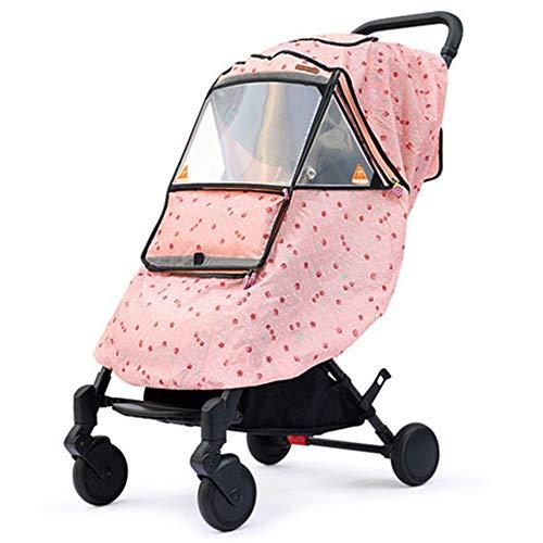 Baby Auto Regenschutz Kinderwagen Wetterschutzabdeckung warmen Winter-Baby aus Artifact Windschutzscheibe Universal-Spaziergänger Raincoat 5 Farben Reisefreundliche Verwendung im Freien Einfach zu i