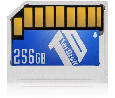 TarDisk 256GB | Storage Expansion Card for MacBook Pro (CD Drive) | P1315A
