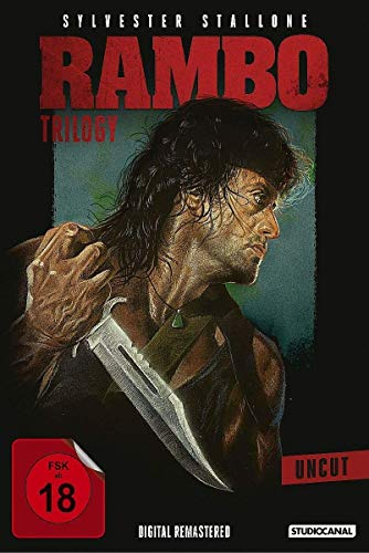 Rambo Trilogy (Uncut, Digital Remastered, 3 Discs)