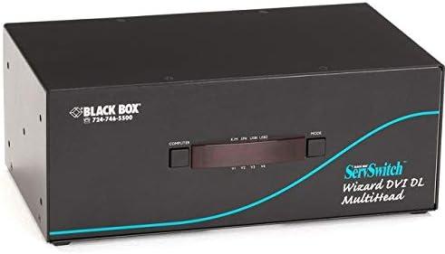 BlackBox KV2404A Dl DVI Year-end Large discharge sale gift Fd Wusb Quadhead True