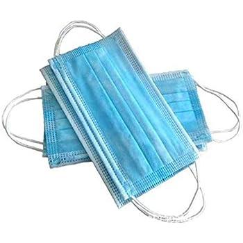 La' Forte Disposable 3 Ply Face Mask Simple Quality Basic Item (Blue) -100 Pieces