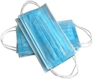 Generic Disposable Face Mask, 3 Ply Mask Low Price Simple Quality Basic Item 100 pcs