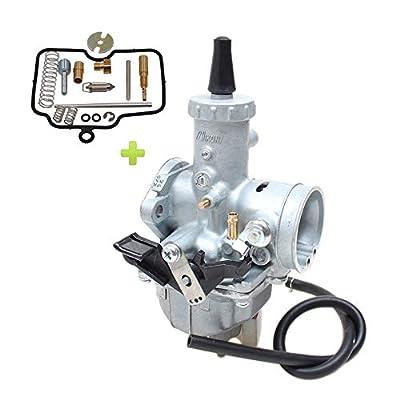 Hwbnde VM26 Carburetor, Works with Mikuni Carb Honda Hawk Go-kart Taotao ATV Dirt CRF KLX TTR XR Pit Dirt for PZ30 150cc 160cc 200cc 250cc 30mm by Hwbnde