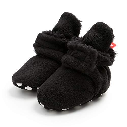 Zapatos Bebe Invierno, Botitas Bebé Recién Nacidos Niña Niño Botas Zapatos Calientes Botines Primeros Pasos Invierno 0-18 Mes