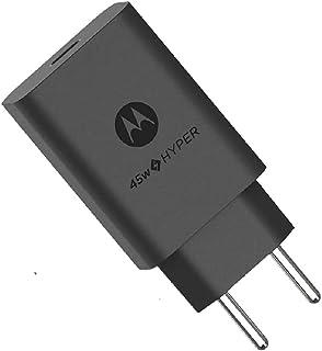 Carregador de Viagem Rápido 45W, Saída USB-C Sem Cabo Motorola Original na embalagem econômica