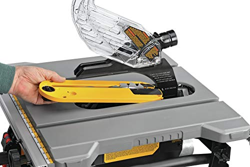 DEWALT Table Saw for Jobsite, Compact, 8-1/4-Inch (DWE7485)