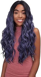 janet collection super flow deep part lace wig