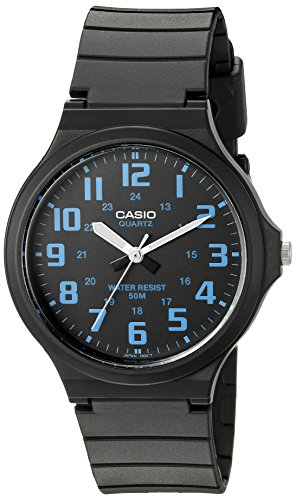 Best Easy to Wear Watches for seniors - Casio Men's 'Easy To Read' Watch (Model: MW240-2BV)