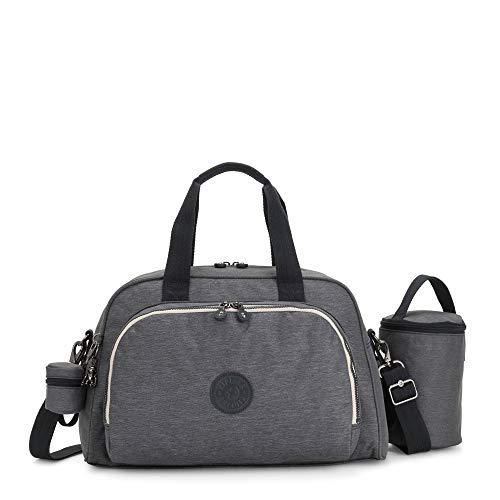 Kipling Women's Camama Diaper Bag, Charcoal, One Size