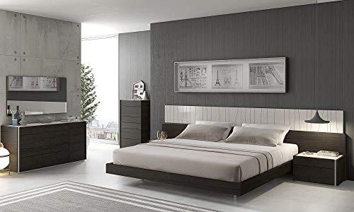 Why Should You Buy Orren Ellis Elida Platform King Bed Set 4