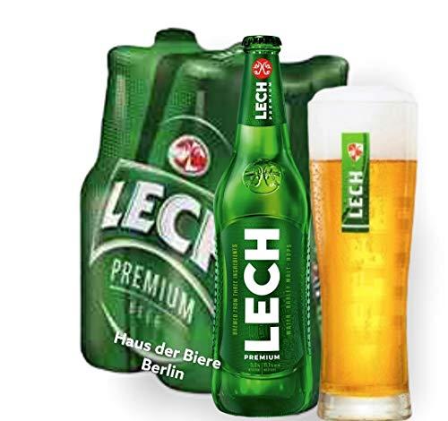 12 Flaschen Lech Bier 0,33l das Premium Bier aus Polen