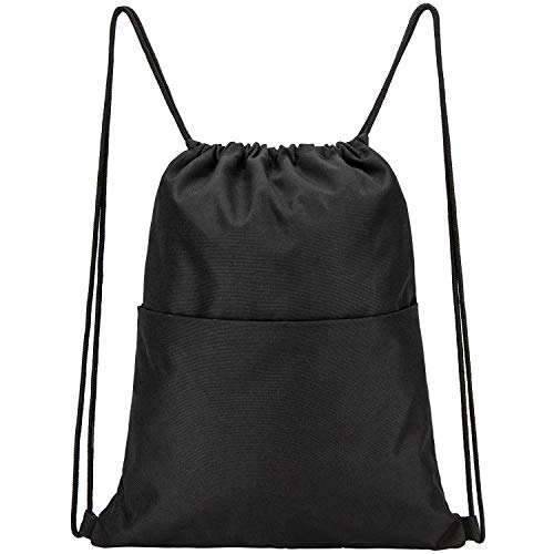 Vorspack Drawstring Backpack Water Resistant String Bag Sports Sackpack Gym
