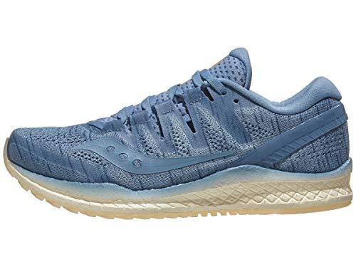 test Saucony Women's Freedom Iso 2 Hellblau, Blaue Turnschuhe, Neutrale Schuhe, Blautönung, 40,5 EU Deutschland