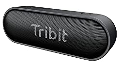 Tribit XSound Go Bluetooth Speaker with 16W Loud Sound & Rich Bass, 24H Playtime, IPX7 Waterproof, Wireless Stereo Pairing, USB-C, Portable Wireless Speaker for Home, Outdoors, Travel (Upgraded)
