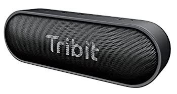 Bluetooth Speaker Tribit XSound Go Speaker with 16W Loud Sound & Deeper Bass 24H Playtime IPX7 Waterproof Bluetooth 5.0 TWS Pairing Portable Wireless Speaker for Home Outdoor  Upgraded