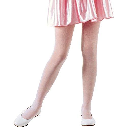 Amakando Collants de Danse - Rose | Collants Enfants Opaque Ballerine | Collants pour Enfants | Collants Fantaisie Opaque Fille
