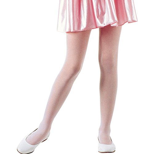 Amakando Collants de Danse - Rose | Collants Enfants Opaque Ballerine | Collants pour Enfants | Collants Fantaisie Opaque Fille