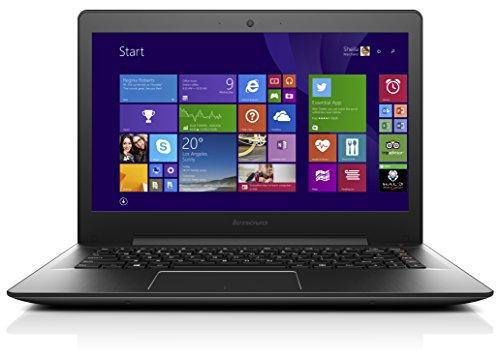 Lenovo U41-70 35,6 cm (14 Zoll Full HD Matt) Ultrabook (Intel Core i3-5005U, 2GHz, 4GB RAM, 500GB HDD, Intel HD Grafik, Windows 8.1) schwarz