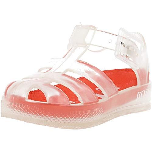 BOSS Sandalen für den Strand, geschlossen, Layette, Mehrfarbig - durchsichtig - Größe: 28 EU