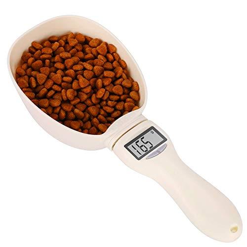 Balance cuillère numérique pour cuisson, Cuillère à mesurer électronique pour Nourriture , Cuillère électronique Balance pour Aliments de chats chiens, Cuillere doseuse g, ml, tasse, once