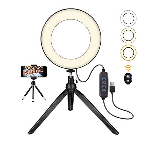VWMYQ Ring Light with Stand,7.9