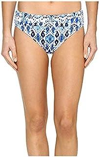 [Tommy Bahama(トミーバハマ)] レディースウェア?ジャケット等 Ikat High-Waist Sash Bikini Bottom Vivid Blue US SM (US 6-8) (S) [並行輸入品]