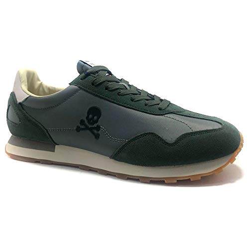 SCALPERS PRAX, Sneakers, para Hombre, Color kaky
