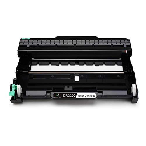DR-2200 Tambor Compatible para Brother HL2210 HL2220 HL2230 HL2240D HL2250DN HL2270DW HL2240L HL2240 HL2130 MFC7460DN MFC7360N MFC7860DW DCP7055 DCP7060D DCP7065DN DCP7070DW, 12000 Copie