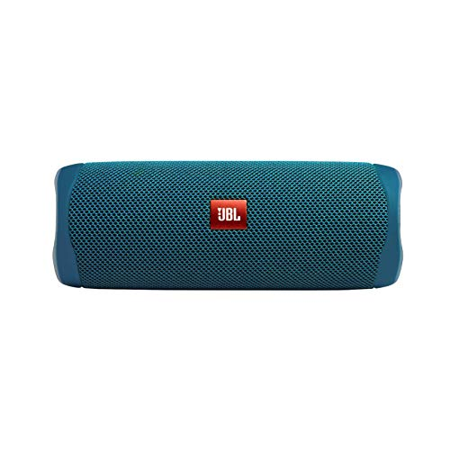 JBL FLIP 5 - Waterproof Portable Bluetooth Speaker Made From 100% Recycled Plastic - Blue (Renewed)