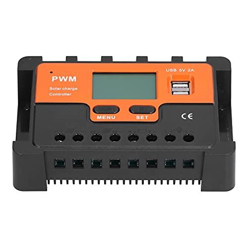Controlador De Carga Solar, PWM Controlador De Carga Solar Controlador Solar Controlador De Carga Solar 12v Para Industrial
