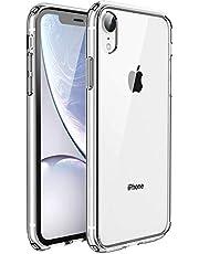 UNBREAKcable Kompatibel mit iPhone XR Hülle [Anti-Gelb & Kratzfest] - Handyhülle iPhone XR Ultra Clear, Hartplastik Rückseite & Weich Silikon Bumper Cover Durchsichtig Schutzhülle, Case - Transparent