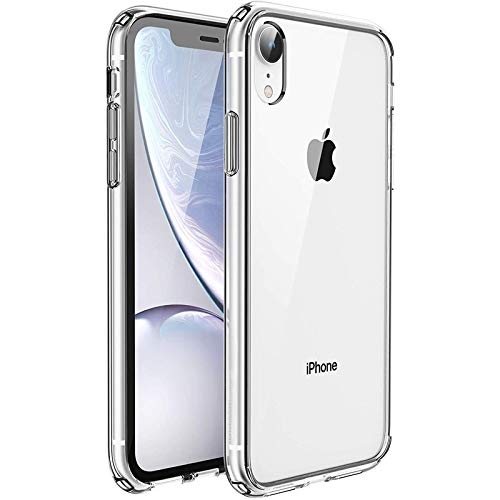 "UNBREAKcable Funda para iPhone XR, [Anti-Choques y Antiamarilleo] Carcasa Protectora Antigolpes con Parachoques de TPU Flexible Compatible para Apple iPhone XR 6,1"" - Transparente"