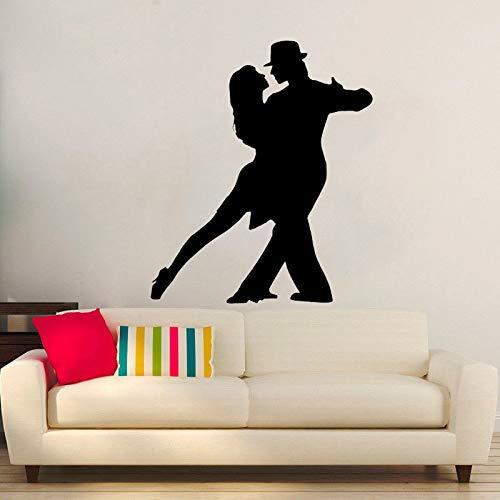Preisvergleich Produktbild 45 CM * 53, 6 CM Mode Tanzen Gymnastik Decor Wandaufkleber PVC Wohnzimmer Das Schlafzimmer
