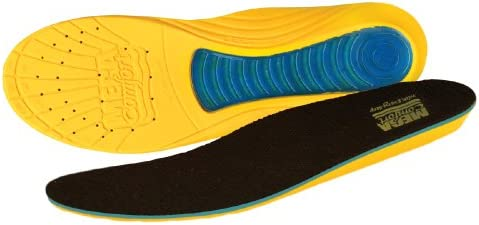 MEGAComfort MS M89 W1011 MegaSole Gel Enhanced Dual Layer Memory Foam Insole 1 per Pack product image
