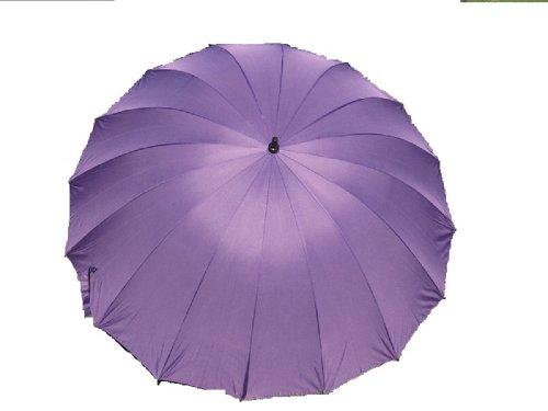 Plum Purple CLEARANCE 16 Panel Wedding Umbrella Factory 2nd