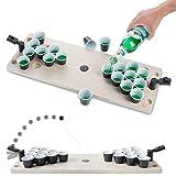 GOODS+GADGETS Mini Beer-Pong Spiel für Jede...