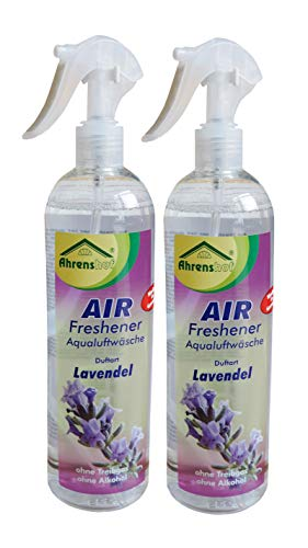 2 x AIR-Freshener Lavendel 500ml, Luftwäsche, Lufterfrischer, Geruchsvernichter