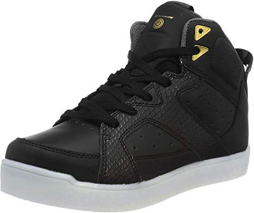 Skechers Kinder High Sneaker Boots Nappa 90615L BLK schwarz 495346