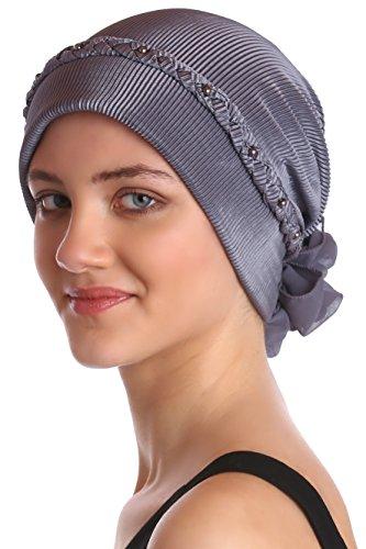 Bigood Femme Chapeau Souple Bonnet pour Perte de Cheveux Cancer Chimio