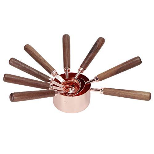 Cuchara medidora, cuchara medidora resistente a la oxidación, fácil de limpiar, elegante y multifuncional, sopa de pollo con cuchara para salsas