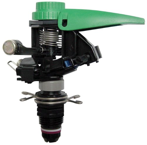 Rain Bird P5R Plastic Impact Sprinkler, Adjustable 0░ - 360░ Pattern, 25' - 41' Spray Distance,Black