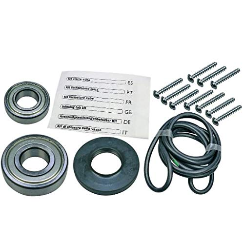 Lagersatz für Waschmaschine: Wellendichtung mit Kugellagern Bosch 00172686