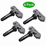 EONLION 315MHz Programmed Tire Pressure Monitoring System Sensor (TPMS) Compatible with Buick Cadillac Chevrolet GMC Pontiac Saturn 13598771 13598772 (Sets of 4)