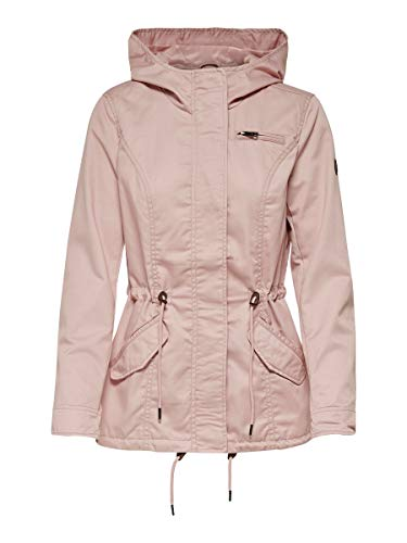 ONLY Damen ONLNEWLORCA Spring Canvas CC OTW Parka, Rose Smoke, XL