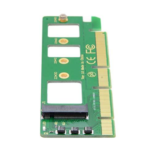 Cablecc NGFF M-Key NVME AHCI SSD auf PCI-E 3.0 16x x4 Adapter für XP941 SM951 PM951 A110 m6e 960 EVO SSD
